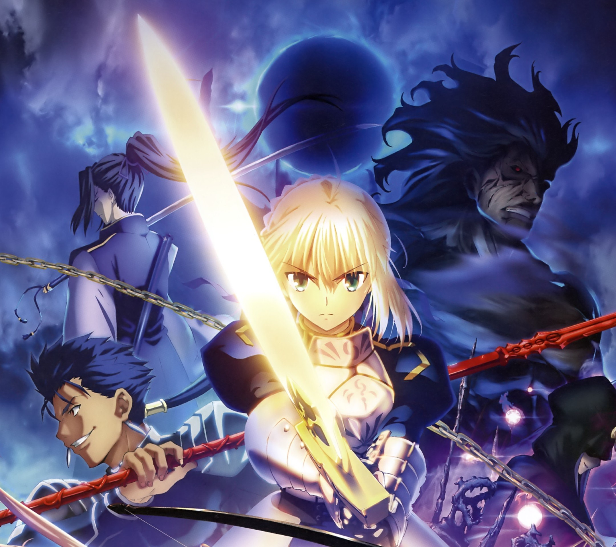 Fate Stay Night Unlimited Blade Works Saber Wallpaper