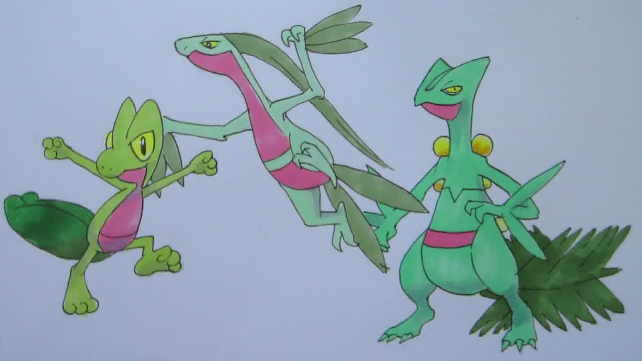 Sceptile Drawing