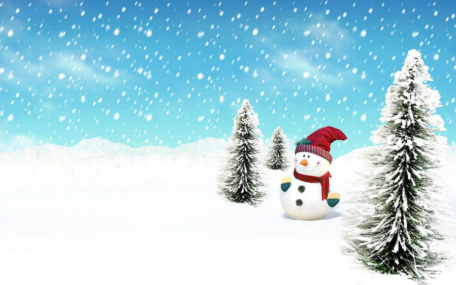 Free Snowman Backgrounds