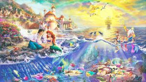 Little Mermaid background 43+