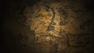 Map of Middle Earth Wallpaper 56+