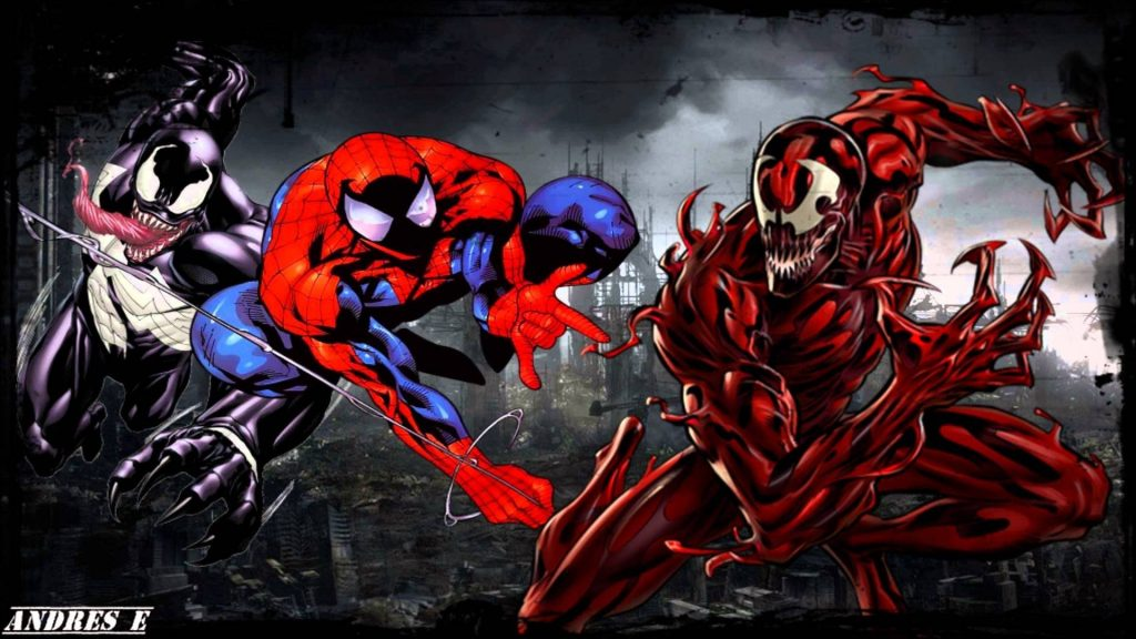 Spiderman Venom Wallpaper 57 Desktop Wallpaper